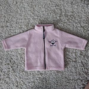 Pink Reno fleece jacket